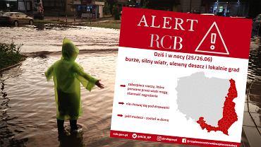 RCB ostrzega przed warunkami pogodowymi