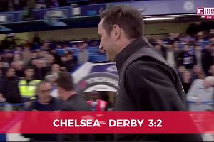 Puchar Ligi Angielskiej. Chelsea - Derby 3:2. Frank Lampard wraca na Stamford Bridge, jego piłkarze zapewniają rywalom awans [ELEVEN SPORTS]