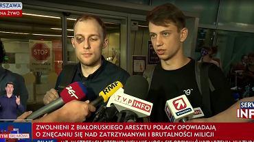 Witold Dobrowolski i Kacper Sienicki