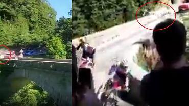 Remco Evenpoel z koszmarnym wypadkiem na wyścigu Il Lombardia