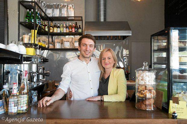 Właściciele kawiarni Alt Cafe w Gdyni