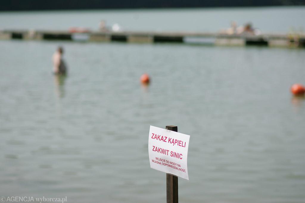 Zakaz kąpieli (zdjęcie ilustracyjne)