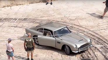 Aston Martin DB5 na planie 'No Time to Die'