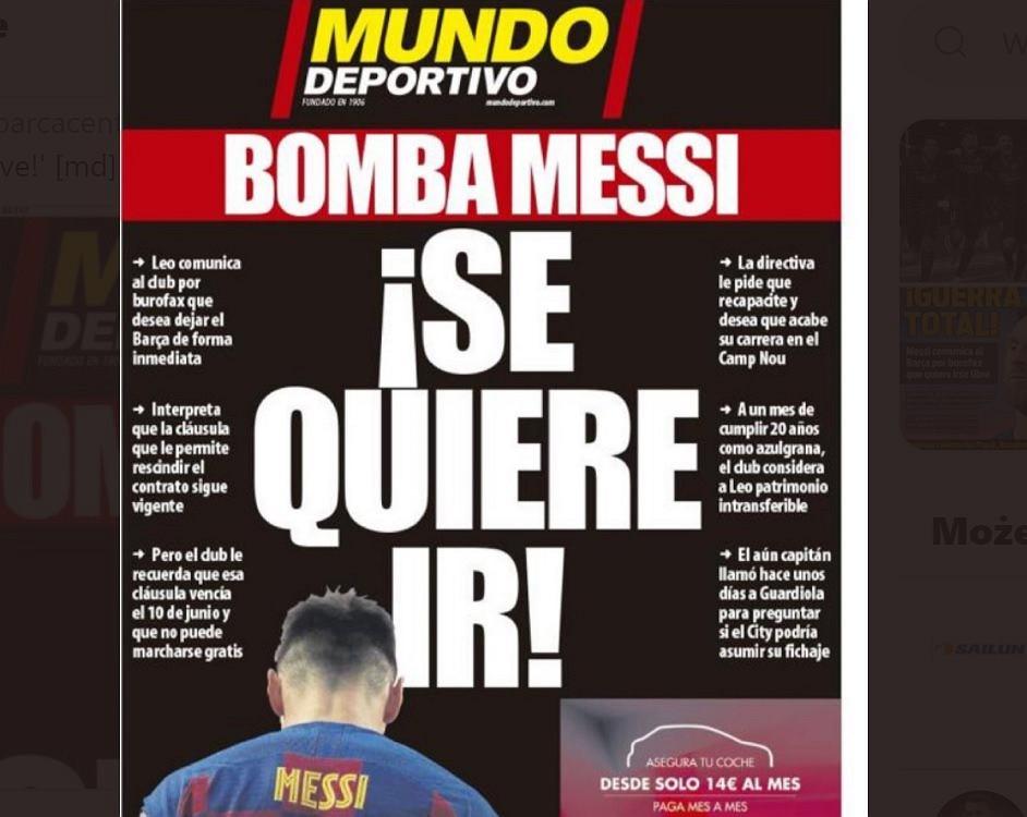 'Bomba Messiego'