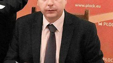 Jacek Terebus, pełnomocnik prezydenta Płocka ds. inwestycji strategicznych optymistycznie ocenia rekomendację radnych sejmiku