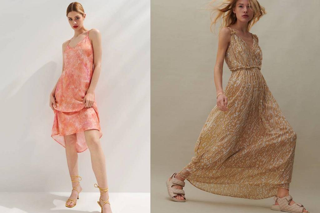 Wyprzedaż sukienek we wzory