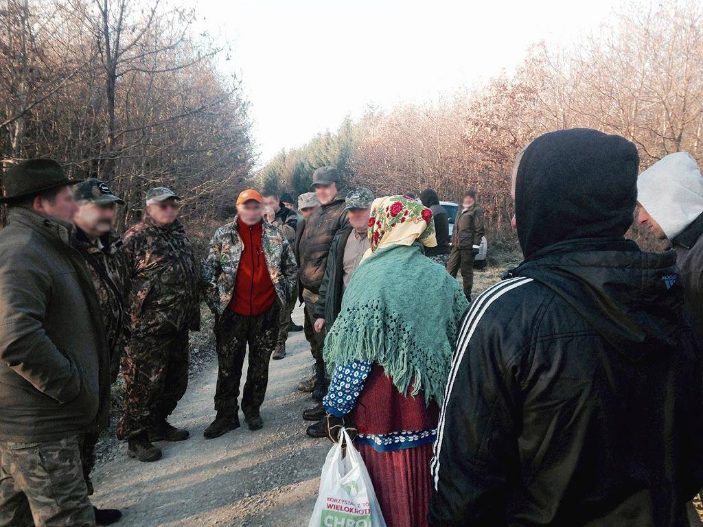 Grzybiarki przepędziły myśliwych z lasu na Podkarpaciu