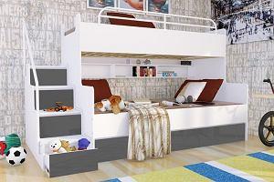 Łóżko piętrowe - kiedy się sprawdzi? Modele z polskich sklepów