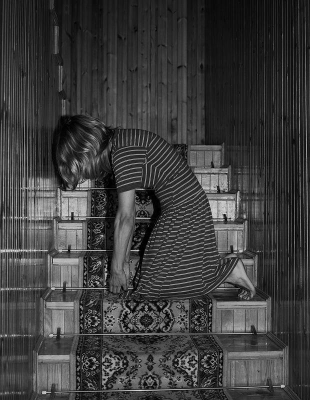 Praca z cyklu 'Samoobrona' (fot: Joanna Piotrowska)