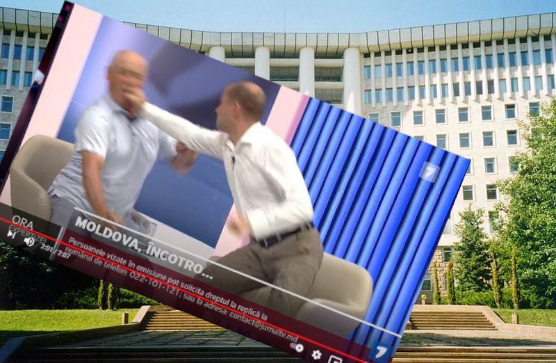 Mołdawia. Były wiceminister pobity na antenie TV
