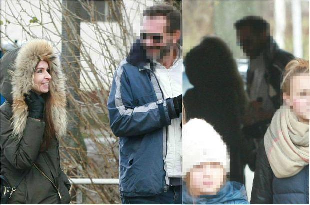 Zdjęcie numer 0 w galerii - Marta Kaczyńska na spacerze z córkami i brunetem. Nowy związek? Ten uśmiech mówi sporo. A pożegnanie jeszcze więcej