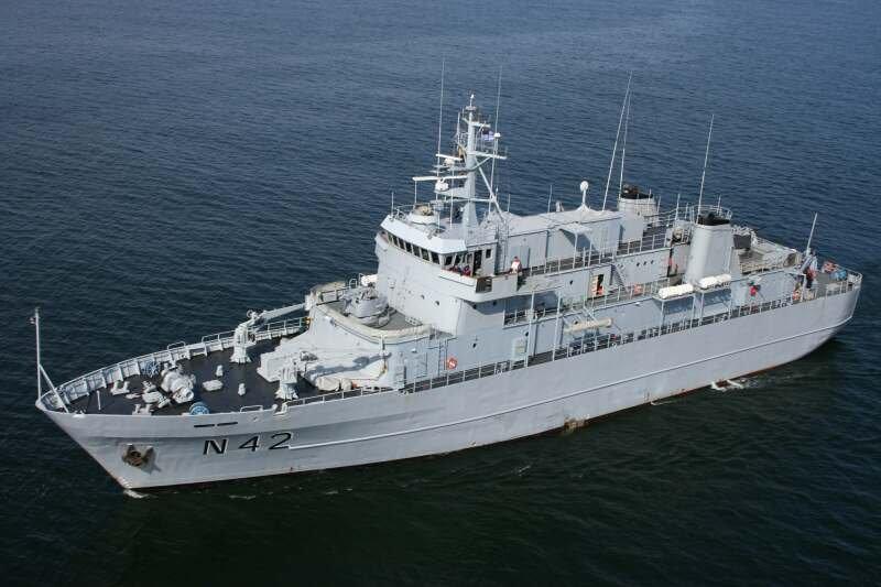 Okręt litewskiej marynarki wojennej N42 Jotvingis