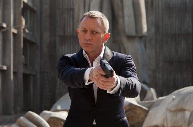 Daniel Craig w 'Skyfall'