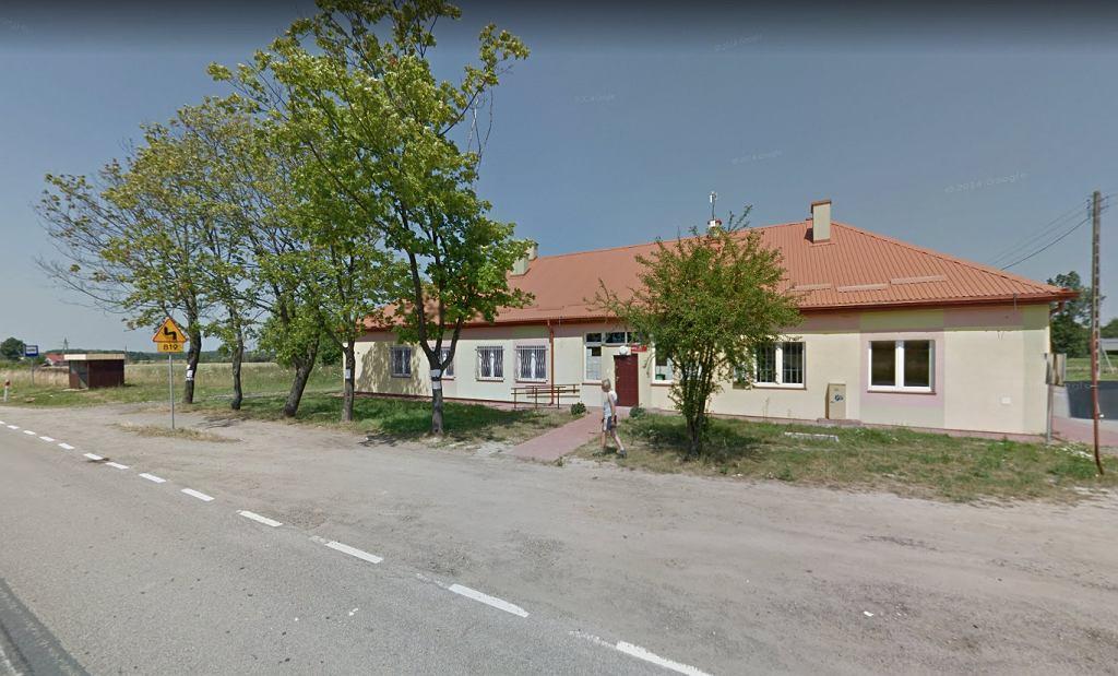 Budynek komisji wyborczej, w którym doszło do eksplozji