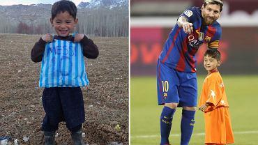 Murtaza i Leo Messi