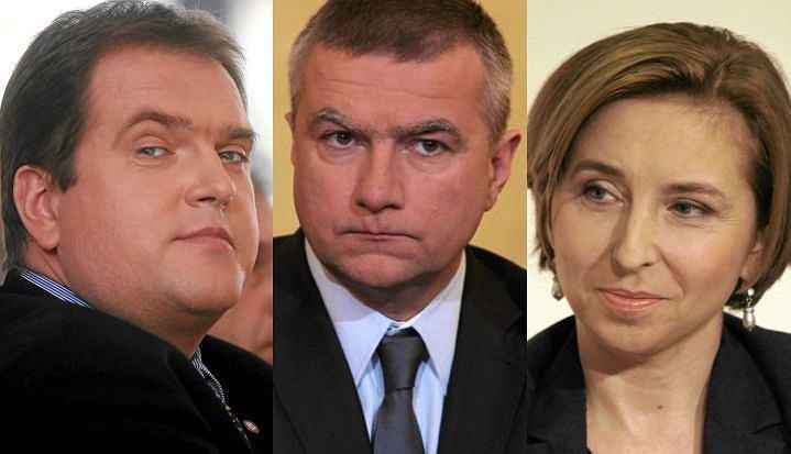 Paweł Piskorski, Paweł Graś, Dominika Wielowieyska