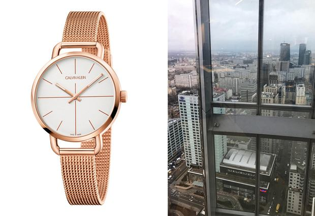 Nową kolekcję zegarków Calvin Klein oglądaliśmy na 38. piętrze warszawskiego wieżowca