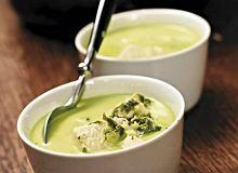 Rozgrzewająca zielona zupa z kurczakiem - ugotuj
