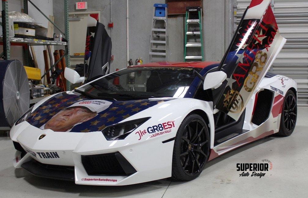 Lamborghini Trumpventador