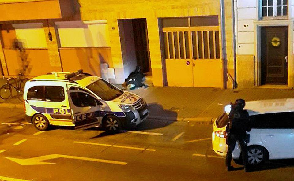 29-letni Cherif Chekatt, którego policja oskarżała o wtorkowy zamach w Strasburgu, został zastrzelony przez policję. Strasburg, 13 grudnia 2018