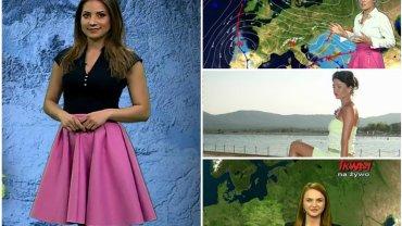 Piękne, pełne wdzięku i profesjonalne. Równie świetnie prezentujące się przed kamerą, co ich koleżanki z TVP czy TVN. To one zapowiadają prognozę pogody w lokalnych lub niszowych stacjach telewizyjnych. Zobaczcie je!