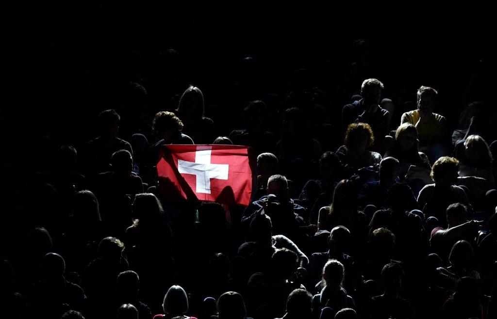 Kibice Szwajcarii