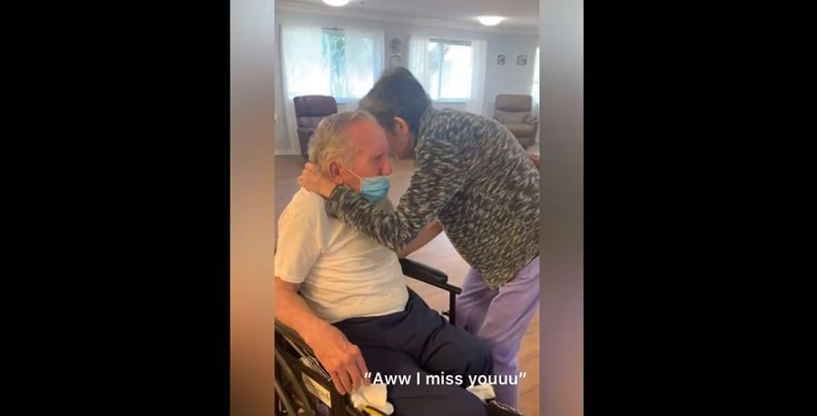 Małżeństwo 80-latków spotkało się po 215 dniach rozłąki. Rozczulający widok! 'Nie sądziłem, że kiedykolwiek tu dotrę'