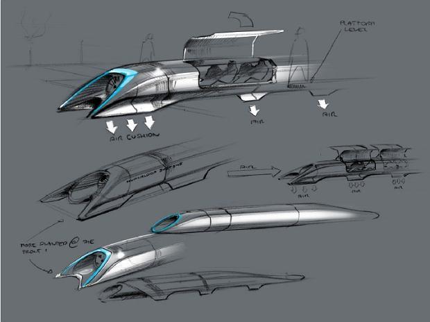 Koncepcja pojazdu Hyperloop
