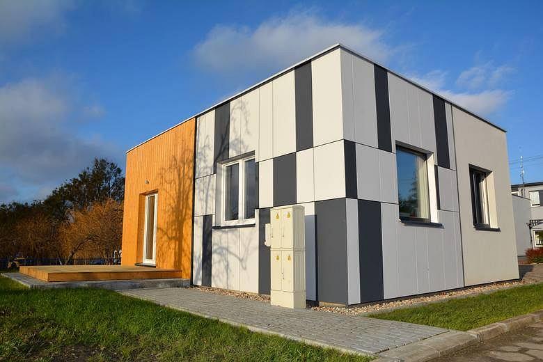 Dom pokazowy, niskoenergetyczny