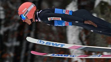 Dawid Kubacki na skoczni w Bischofshofen