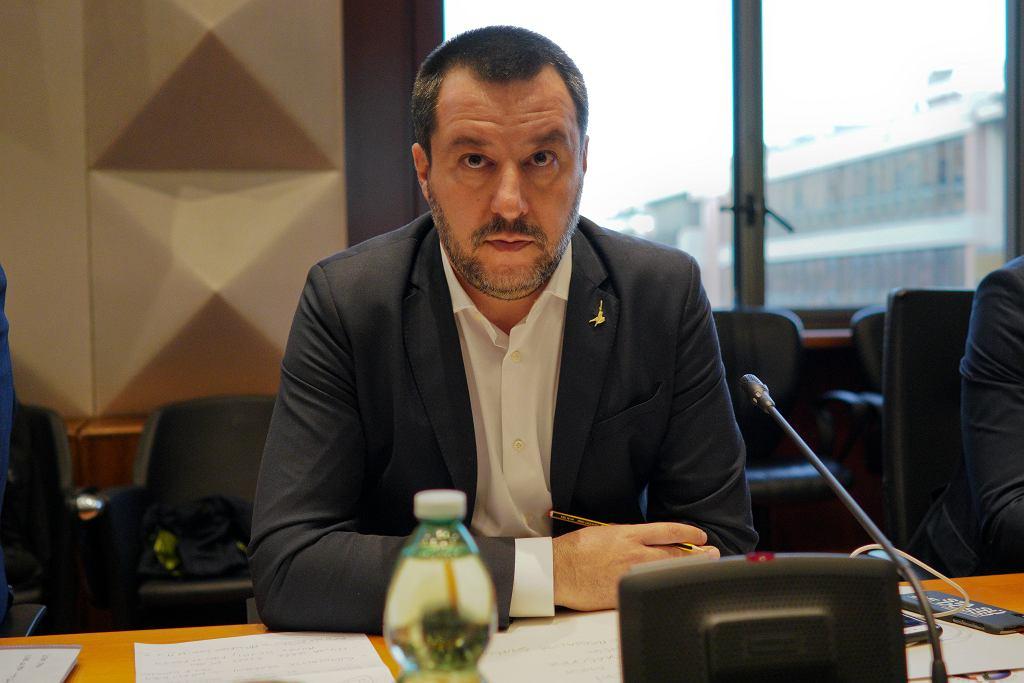 Matteo Salvini z wizytą w Polsce. Będzie rozmawiał z Joachimem Brudzińskim i Jarosławem Kaczyńskim