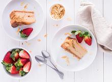 Sernik karmelowy na ciastkach owsianych - ugotuj