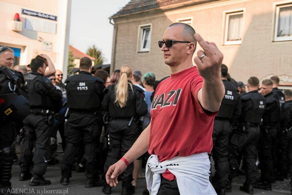 2018. Festiwal 'Tarcza i miecz' w rocznicę urodzin Adolfa Hitlera