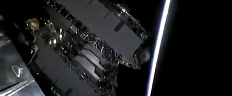 Elon Musk wysłał na orbitę 60 satelitów na raz. Internet z kosmosu coraz bliżej