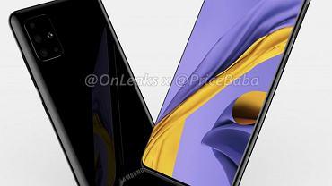 Samsung Galaxy A51 na renderach