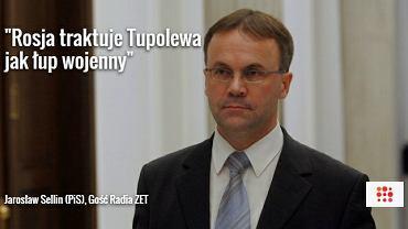 Jarosław Sellin, Gość Radia ZET