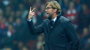 Arsenal - Borussia 2:0 w Lidze Mistrzów 2014, czyli Juergen Klopp jako żywa i wściekła tablica wyników