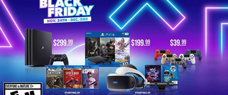 Sony ujawnia ofertę PlayStation na Black Friday. Tańsze gry, konsole i PS+