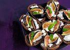 Tartinki z serem kozim i figami - Zdjęcia
