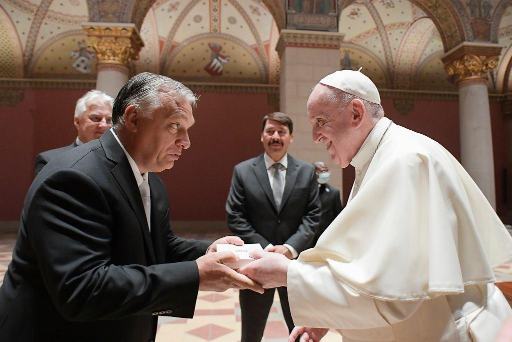 Viktor Orban i papież Franciszek