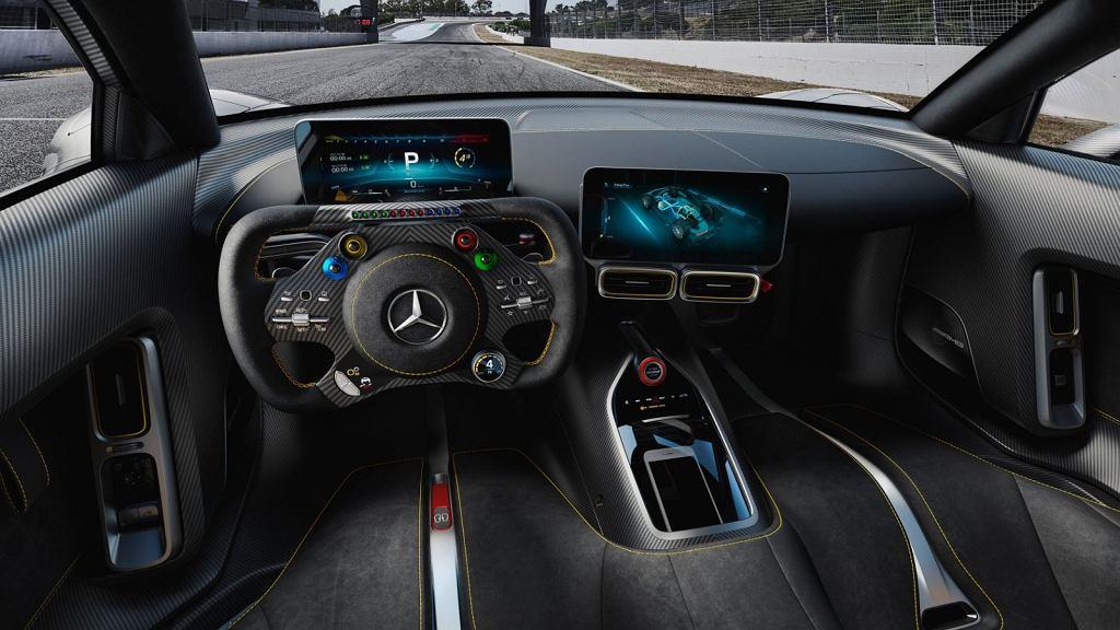Wnętrze drogowego Mercedesa-AMG Project One