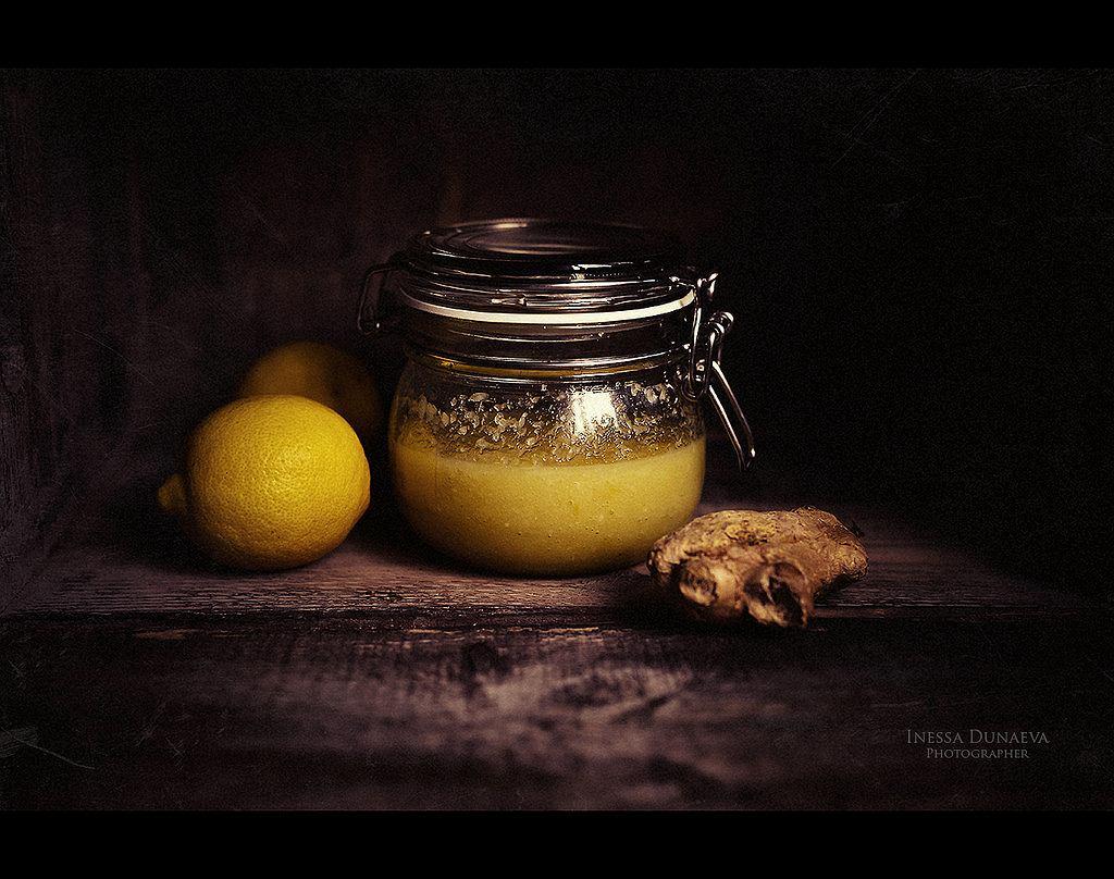 Miód, cytryna i imbir