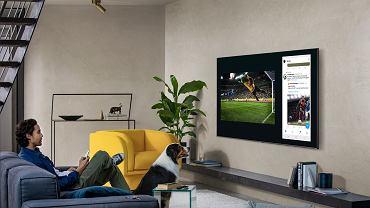 Duże telewizory są idealne do oglądania meczów piłkarskich