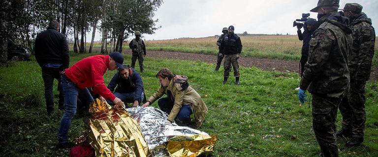 Granica polsko-białoruska. Straż Graniczna: Zmarła kolejna osoba