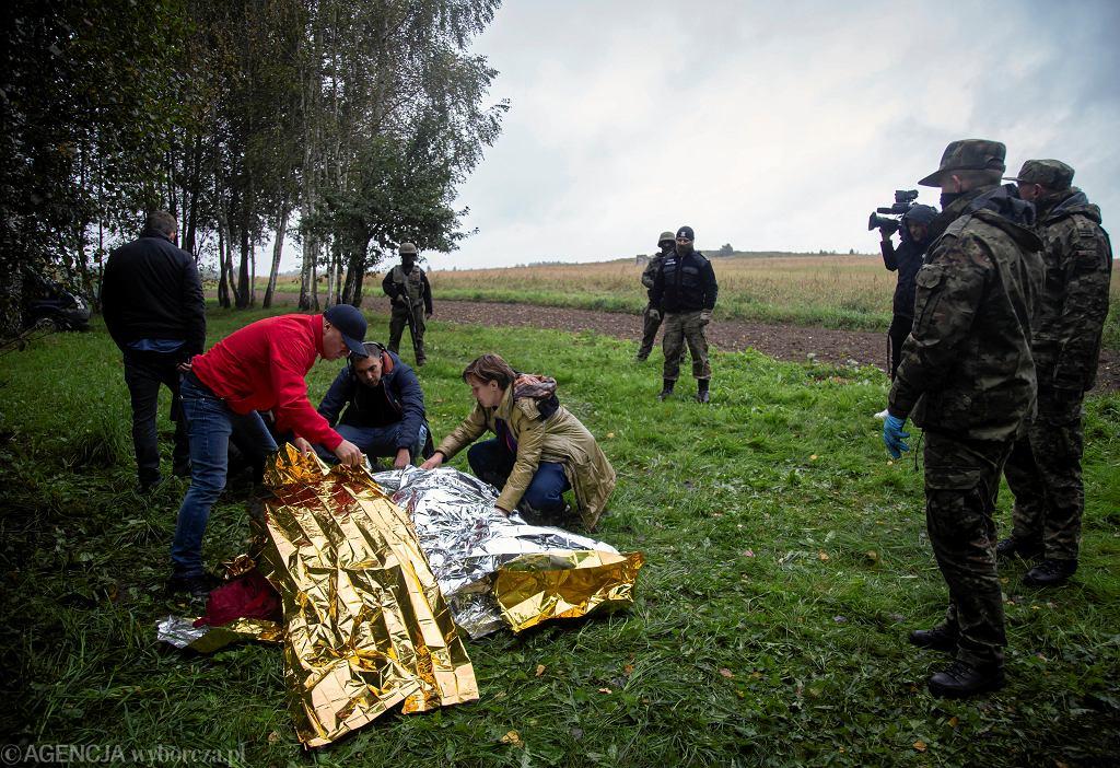 Zdjęcie ilustracyjne - akcja humianitarna Grupy Granica