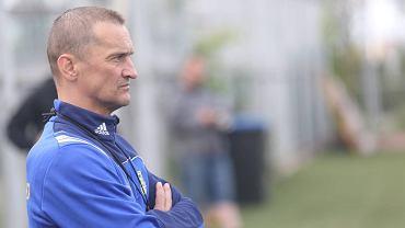 Trener Arki Dariusz Dźwigała