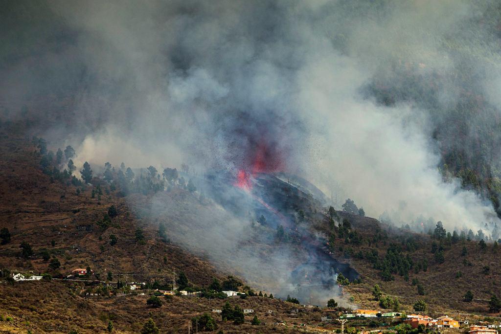 Erupcja wulkanu Cumbre Vieja