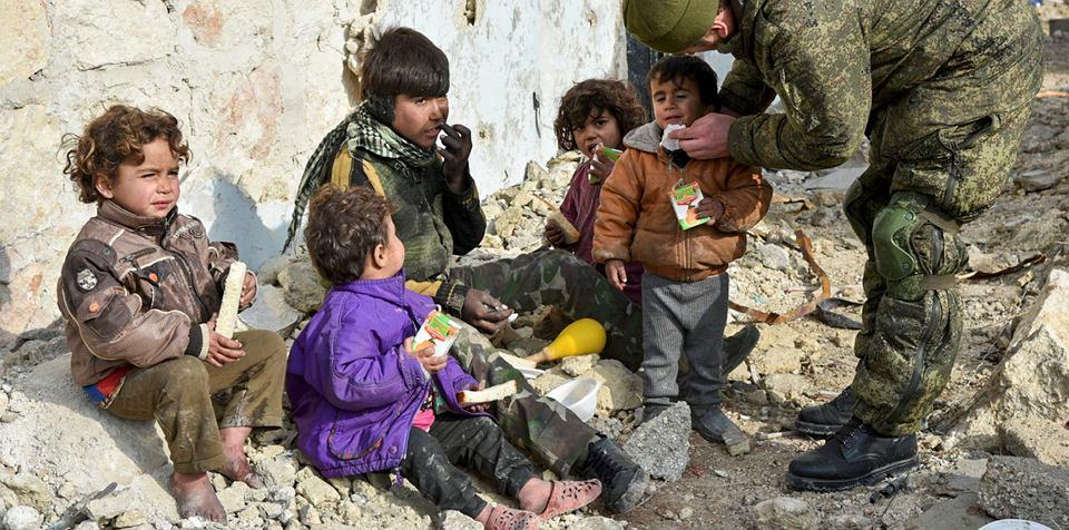 Znalezione obrazy dla zapytania dzieci w syrii