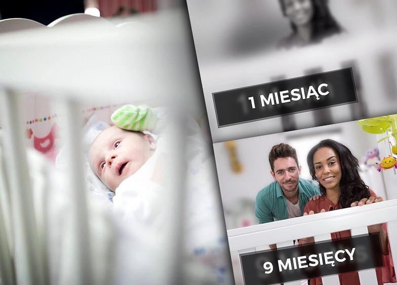 Co widzi niemowlak w pierwszych miesiącach życia?
