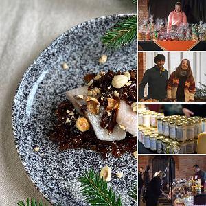 Kameralne targi świąteczne oferują wysokiej jakości produkty oraz doskonałe gotowe potrawy wigilijne i bożonarodzeniowe ciasta